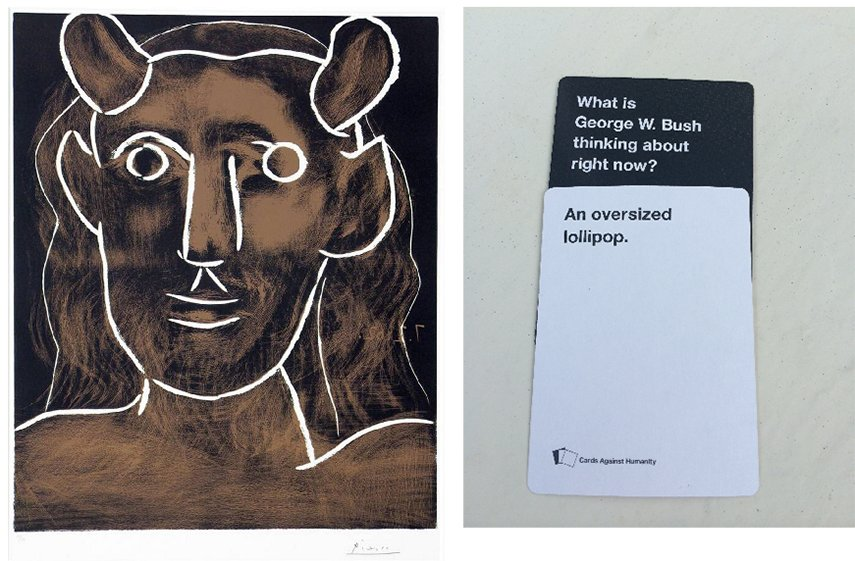 Cards Against Humanity Picasso