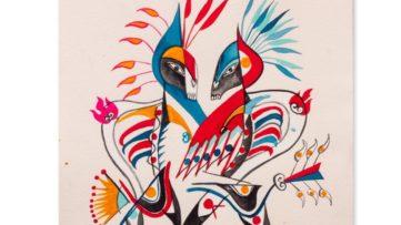 Carlito Dalceggio painting life cirque aufrufe canvas