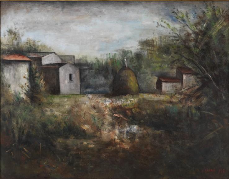 Carlo Carrà - The haystack
