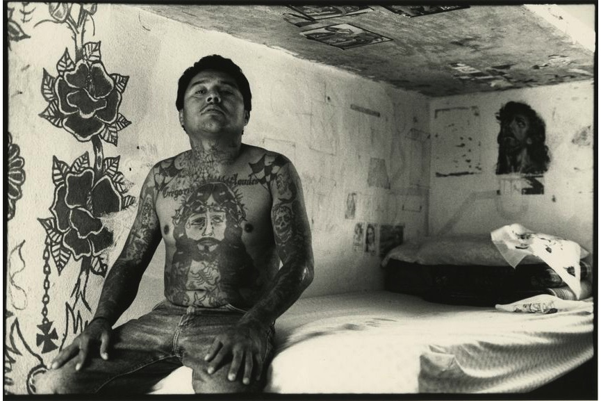 Carlos Somonte - Untitled (Aquileo Valtierra González), from the series Internos, México, 1997