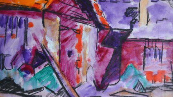 Carola Richards - Abstract Barn (detail)