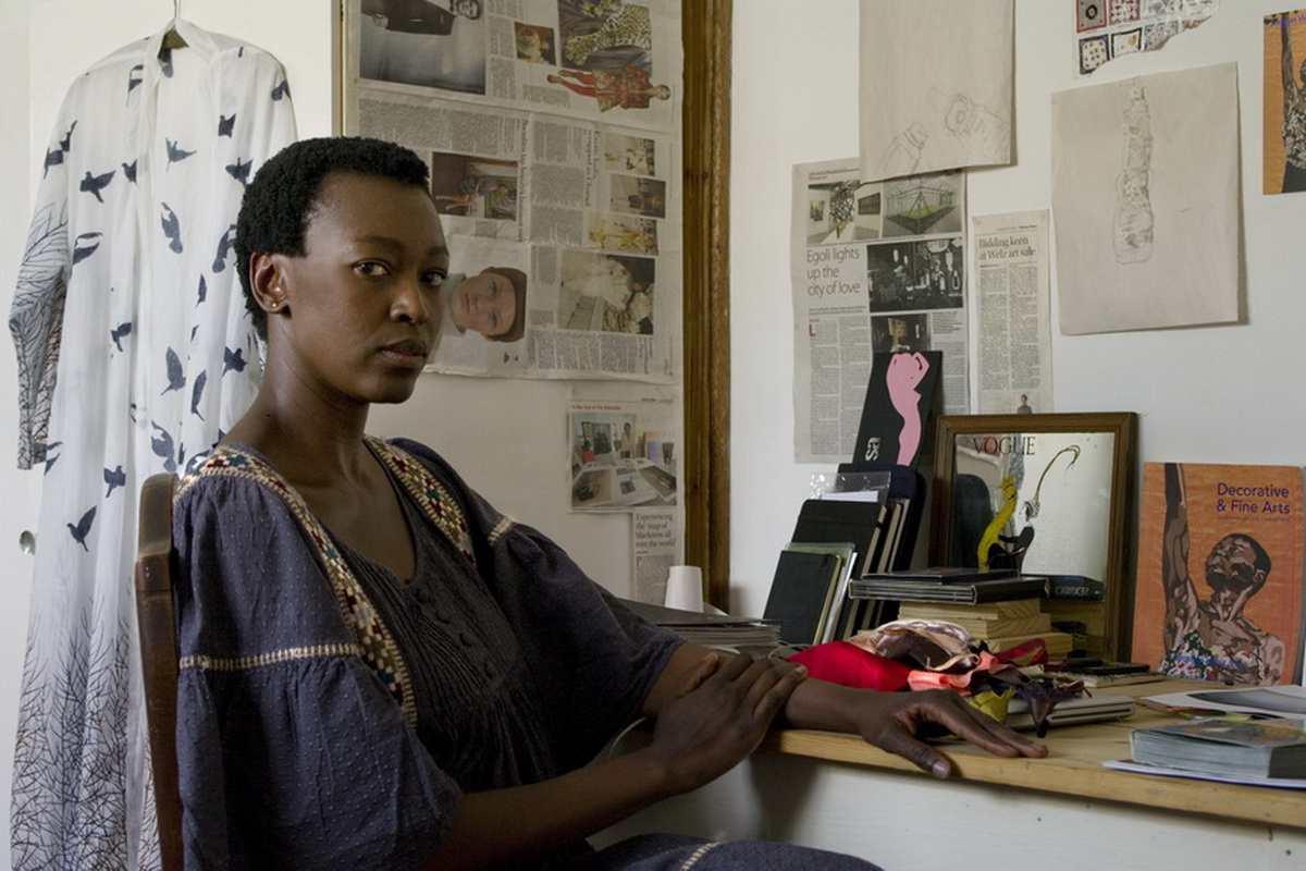 Carole Desbois - Portrait of Billie Zangewa