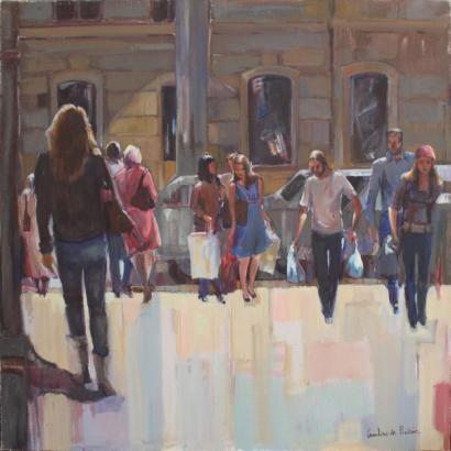 Caroline De Piedoue-La rue en plein midi-2011