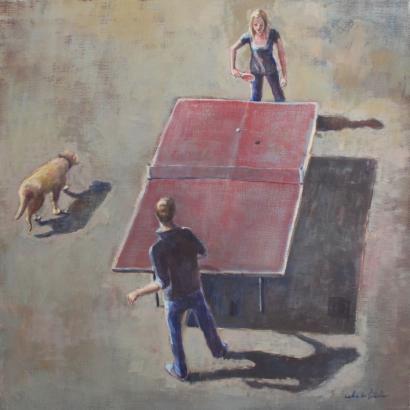Caroline De Piedoue-Le Ping-Pong Rose-2012