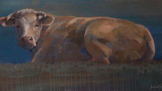 Caroline De Piedoue - Vache de décembre