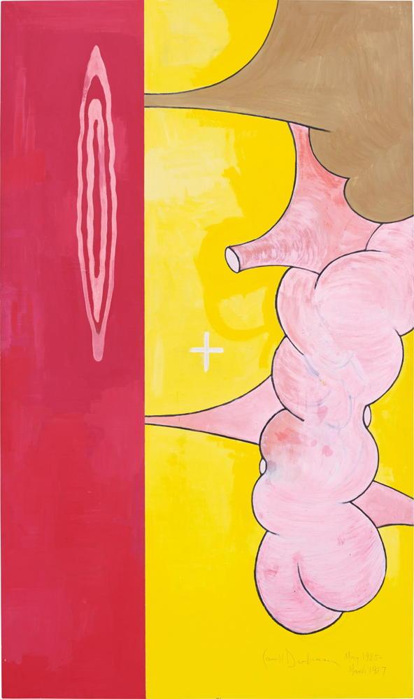Carroll Dunham-Body of Knowledge-1987
