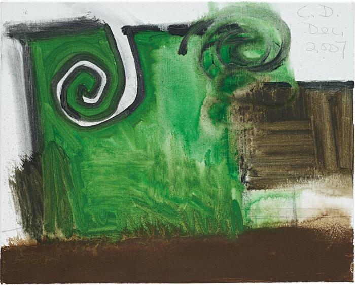 Carroll Dunham-Untitled (12/07)-2007