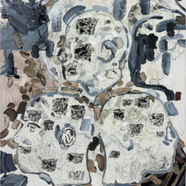 Carter-Untitled (with Abstract Paintings) 2007, #9-2007