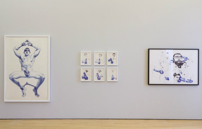 Cary Kwok - Keep your timber limber (installation view), 2013, Image copyright of the artist