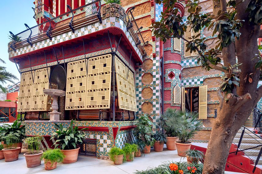 Casa Vicens at Barcelona Gallery Weekend 2019. Photo by David Cardelus