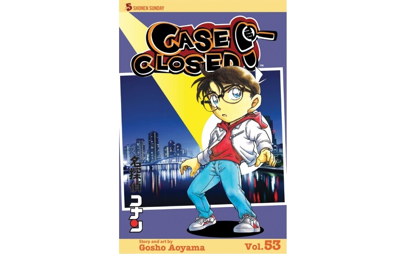 Case Closed Japanese detective manga series