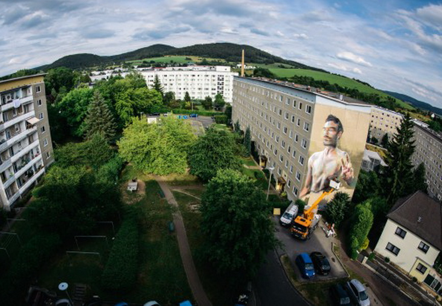 Wallcome urban art festival 2014