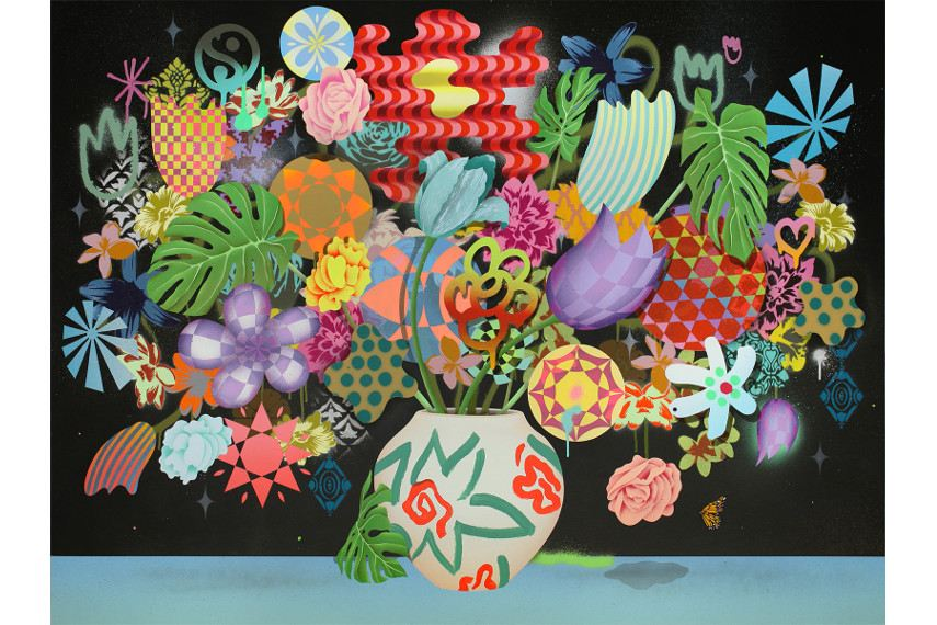 Casey Gray - Still Life with Flowers No. 35