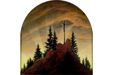Caspar David Friedrich - Cross in the Mountains