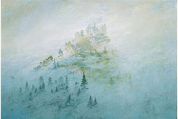 Caspar David Friedrich - Morning mist in the mountains