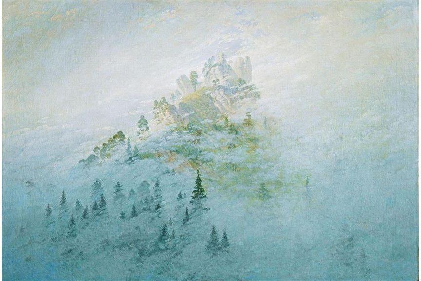 Caspar David Friedrich - Morning mist in the mountains