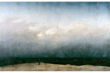 Caspar David Friedrich - The Monk by the Sea