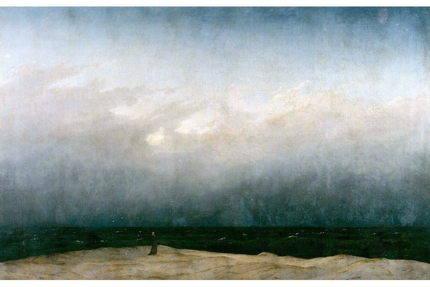 Caspar David Friedrich - The Monk by the Sea
