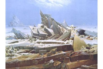 Caspar David Friedrich - The Sea of Ice_
