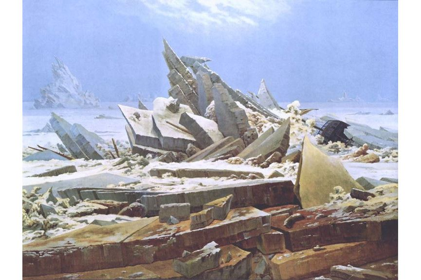 Caspar david friedrich mountains