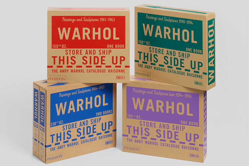 Catalogue of Andy Warhol work