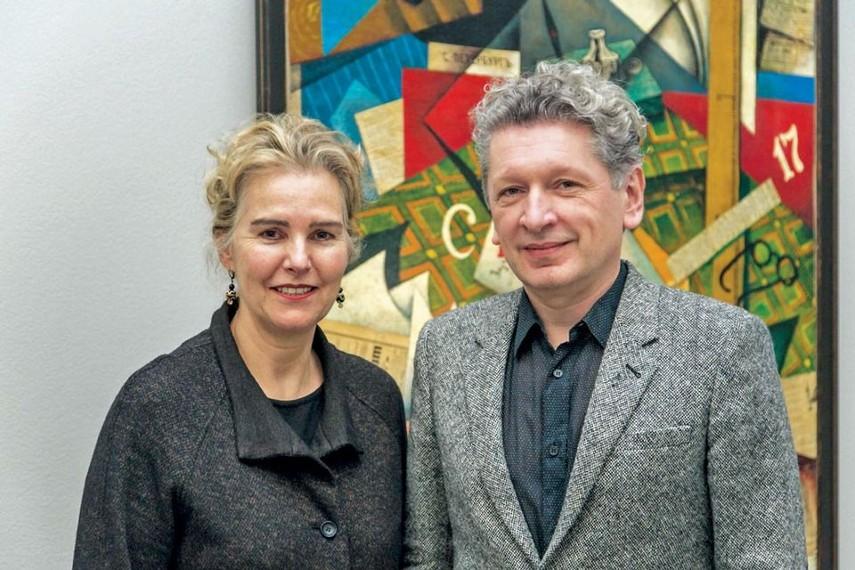 Olga and Igor Toporovsky