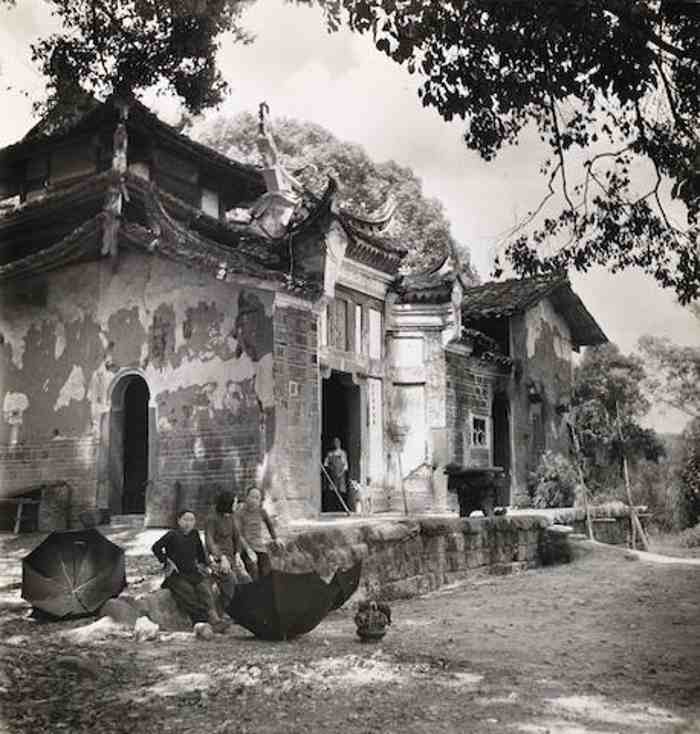 Cecil Beaton-Chinese Village Scene-1945