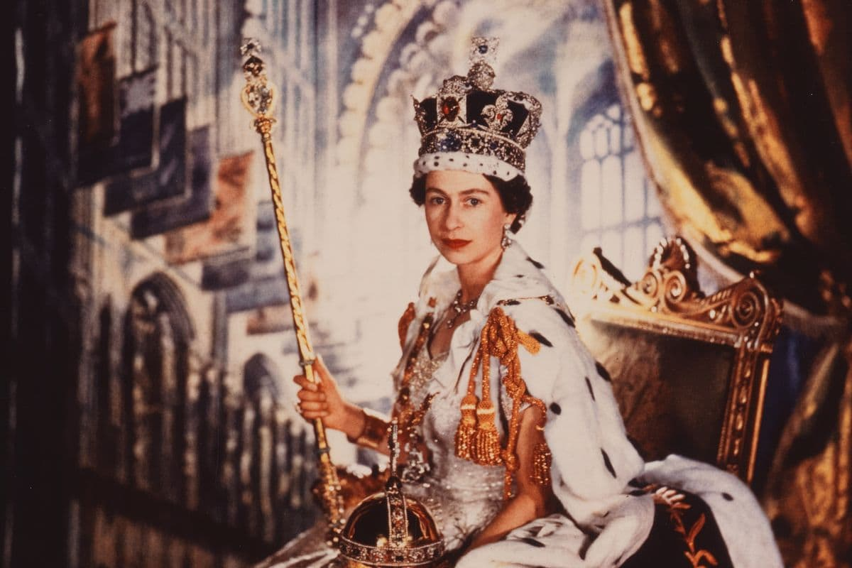 Cecil Beaton, Queen Elizabeth II (detail), from The Royal Family Archive