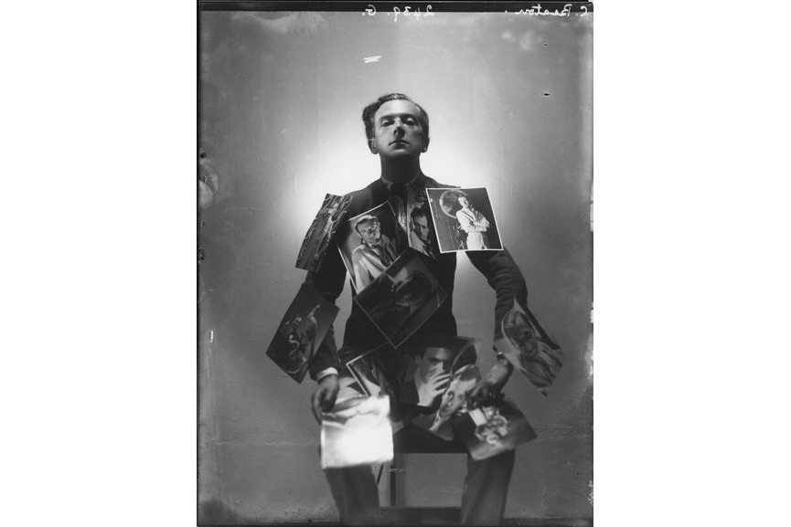 Cecil Beaton by Paul Tanqueray, 1937, at at the National Portrait Gallery in London