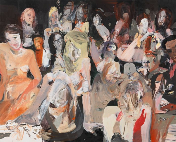 Cecily Brown - All the Nightmares Came Today
