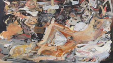 Cecily Brown - Boy with a Cat, 2015