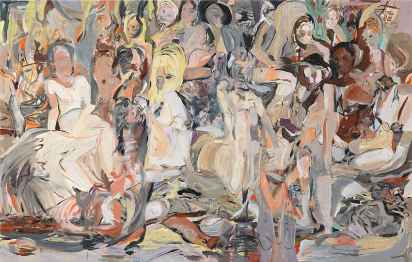 Cecily Brown had numerous exhibitions at gagosian gallery and museum in london, where audience could view her works from 2000, 2005, 2014. The press simple love this type of arts
