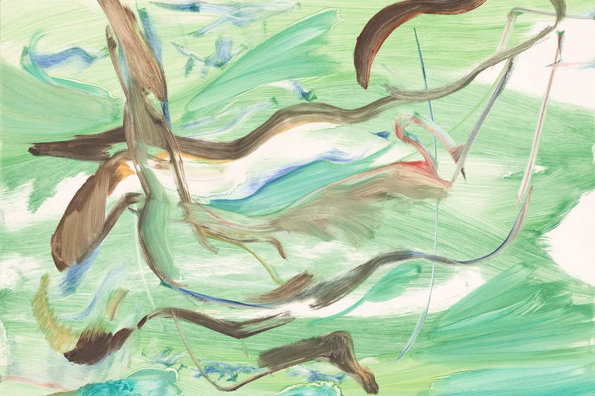 Cecily Brown - Untitled (CB 1377), 2018