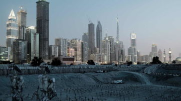 Cedric Delsaux, Dubai Droid Army, 2010_East Wing