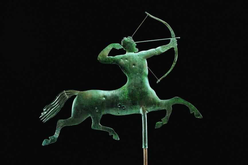 Centaur weathervane