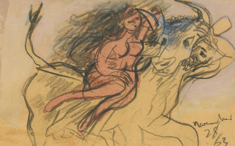 Ceri Richards-Study For The Rape Of Europa-1963