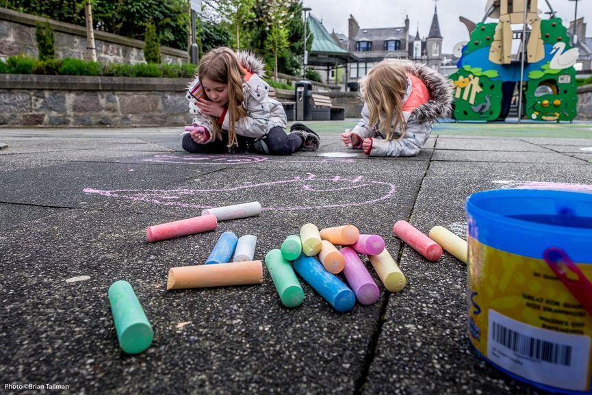 Chalk dont chalk, Nuart, Aberdeen, 2017