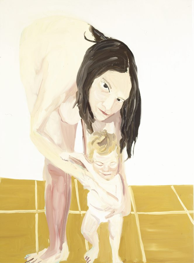 Chantal Joffe-Mother And Child II-2005