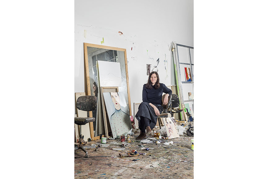 Chantal Joffe portrait