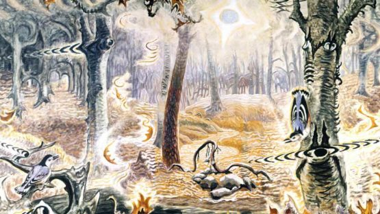 Charles Burchfield - Autumnal Fantasy, 1916-1944 (detail)