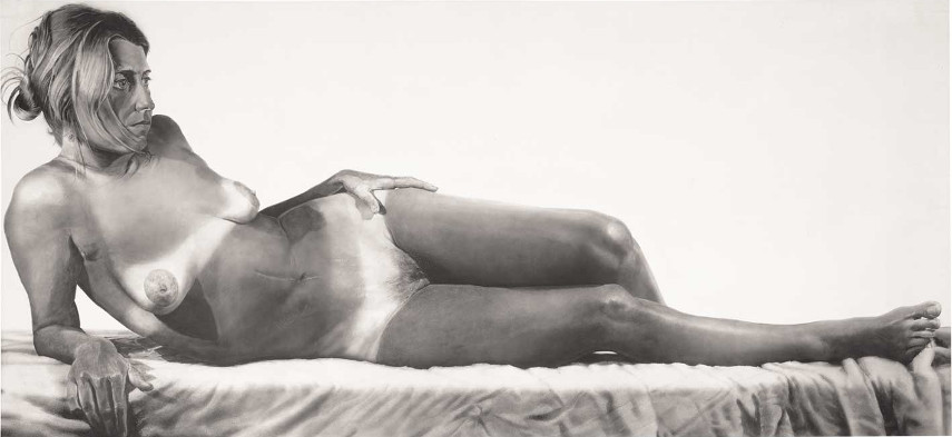 Charles Close - Big Nude, 1967