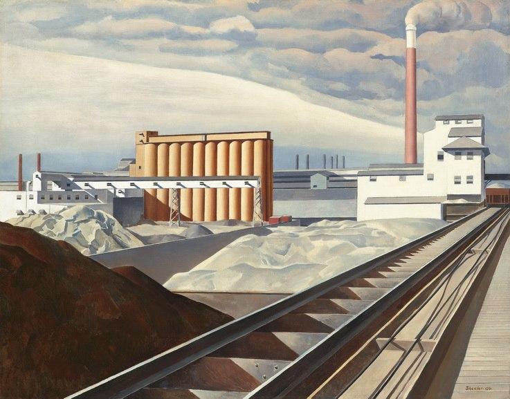Charles Sheeler_Classic Landscape_1931