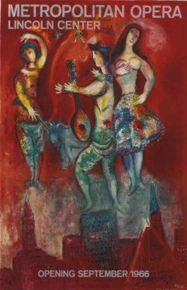 Marc Chagall-After Marc Chagall - Carmen-1967
