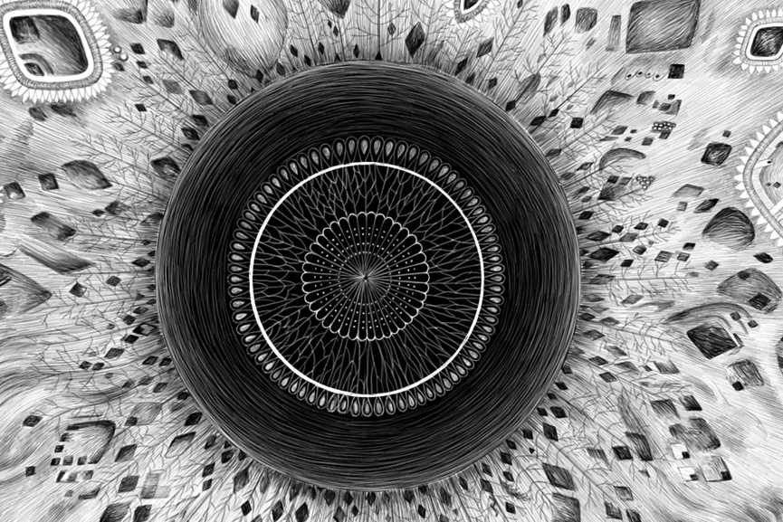 Charlotte Quillet - Oeil, detail