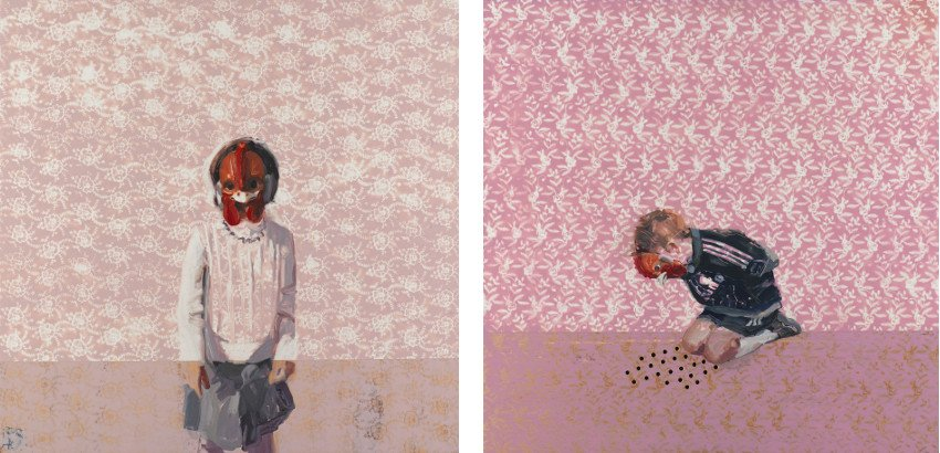 Charming Baker - Portrait of Estelle - 2007 (Left) / Relax and Try to Be Yourself - 2007 (Right) - news