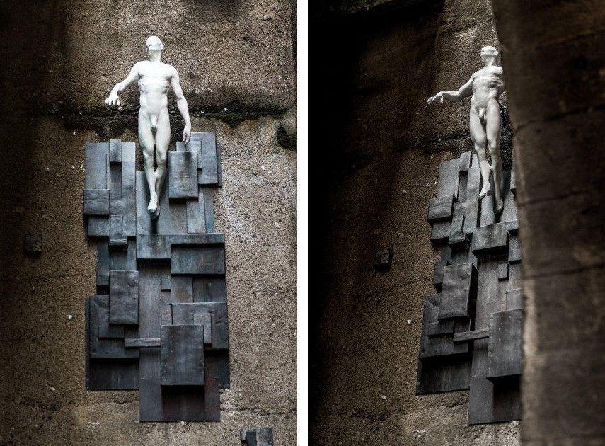 Chazme x Tomasz Górnicki - Underbridge Homeless Jesus (2)