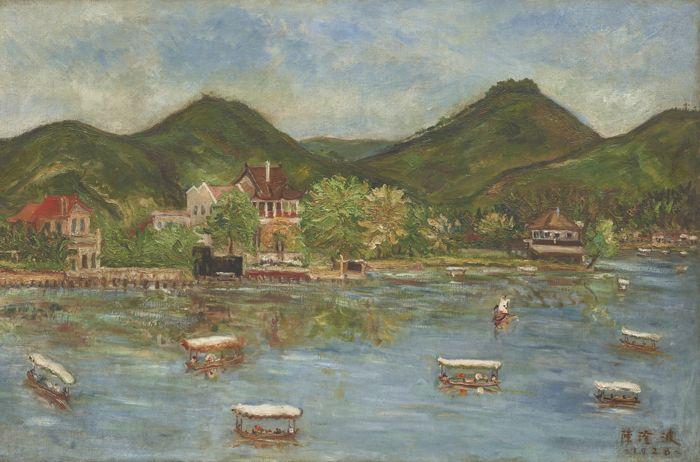 Chen Cheng-Po-West Lake-1928