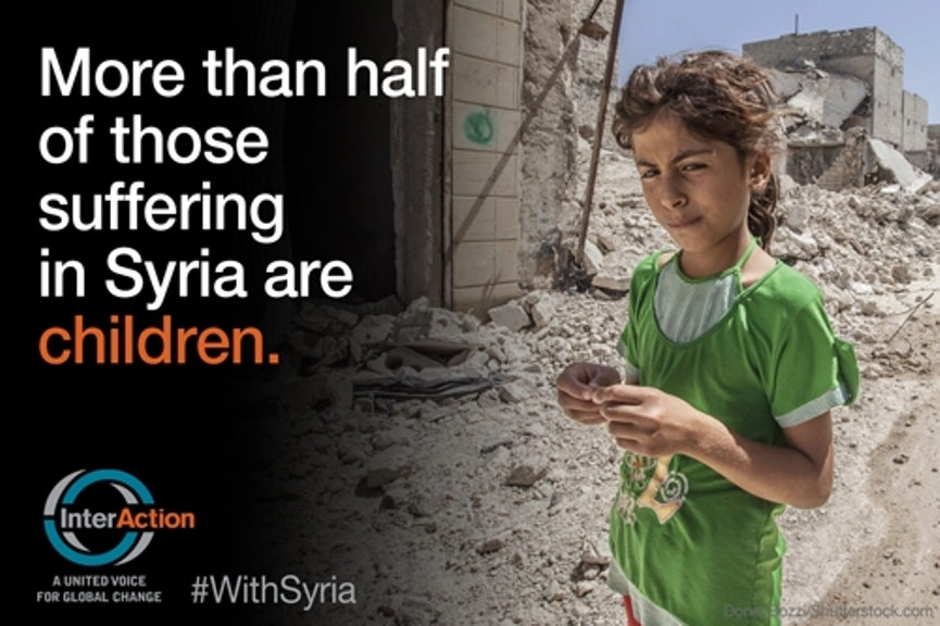 syria help world humanitarian crisis conflict children stand photos facebook rights twitter new years youtube video