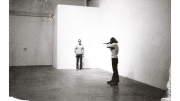 Chris Burden 1971 Shoot