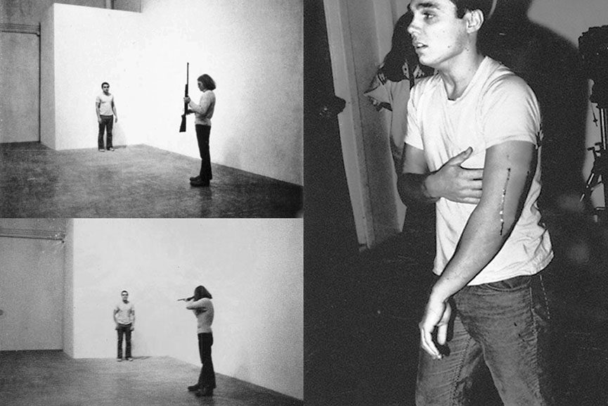Chris Burden - Shoot 1971